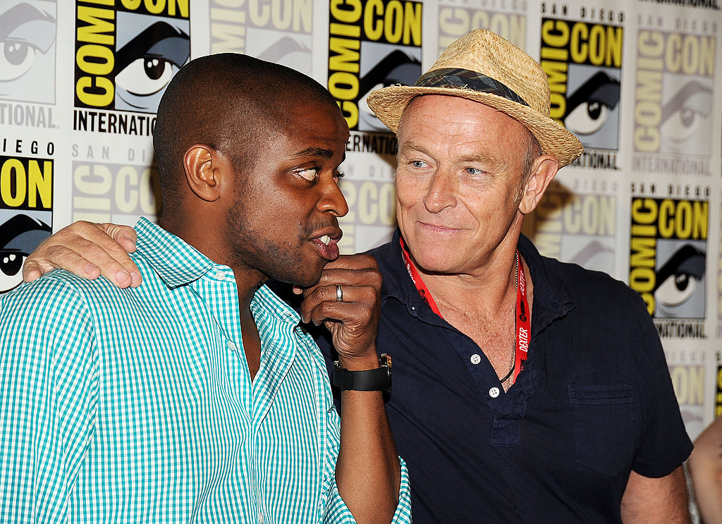 Dule Hill and Corbin Bernsen