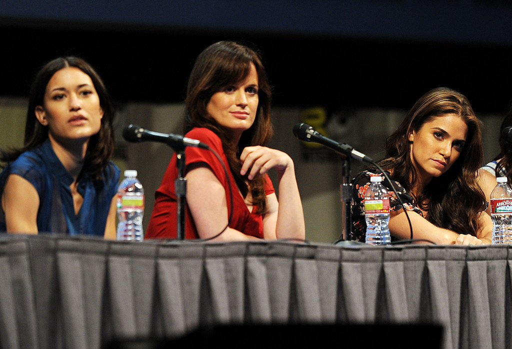 Julia Jones, Elizabeth Reaser, and Nikki Reed