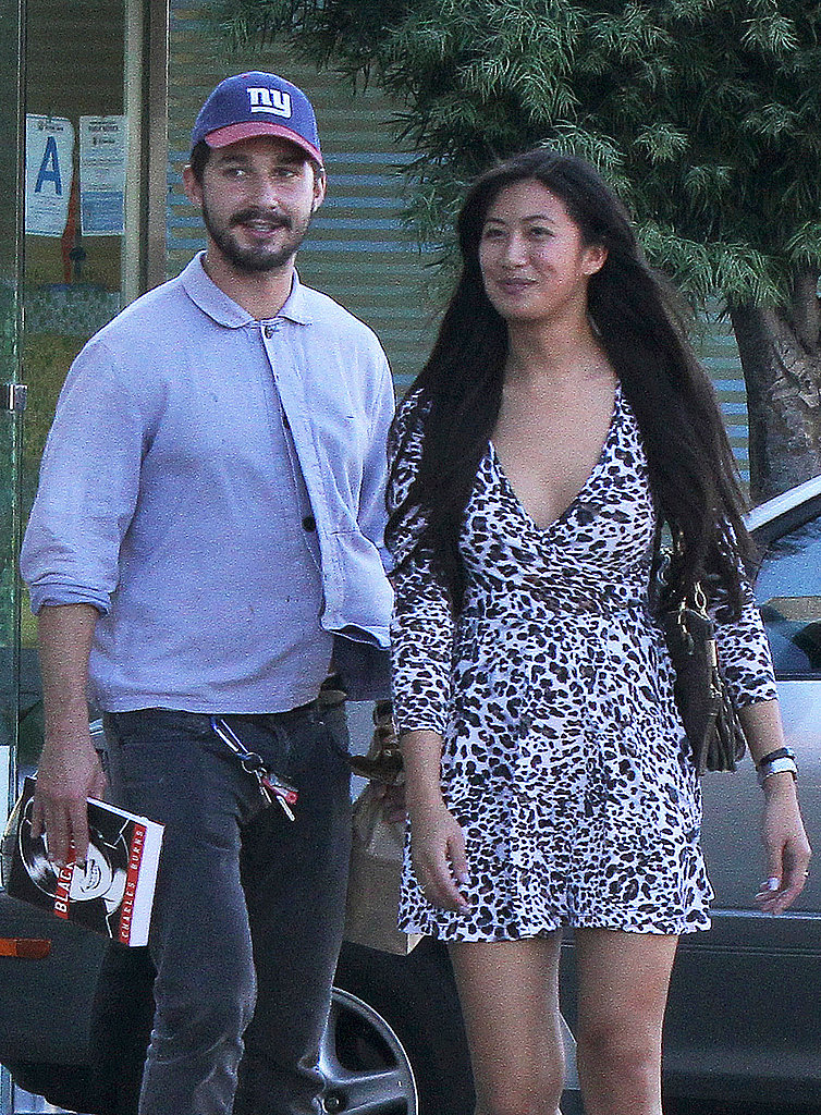 Shia LaBeouf and Karolyn Pho ran errands around LA.