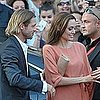 Angelina Jolie and Brad Pitt at the Sarajevo Film Festival 2011-07-31 11:03:45