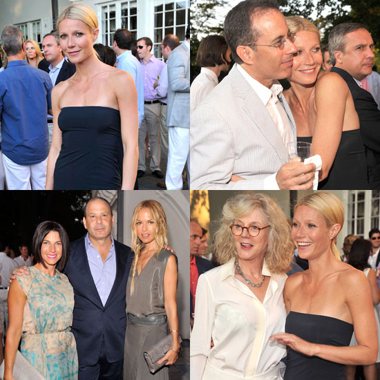 Gwyneth Paltrow Toasts Baby Buggy With Her Mom, the Seinfelds, and Her Designer Friends