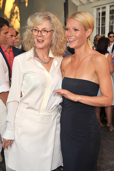 Gwyneth Paltrow and Blythe Danner together in East Hampton.
