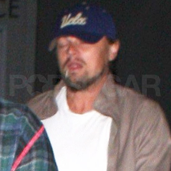 Leonardo DiCaprio out in LA with Blake Lively.
