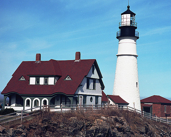 Portland Head Light: Cape Elizabeth, ME