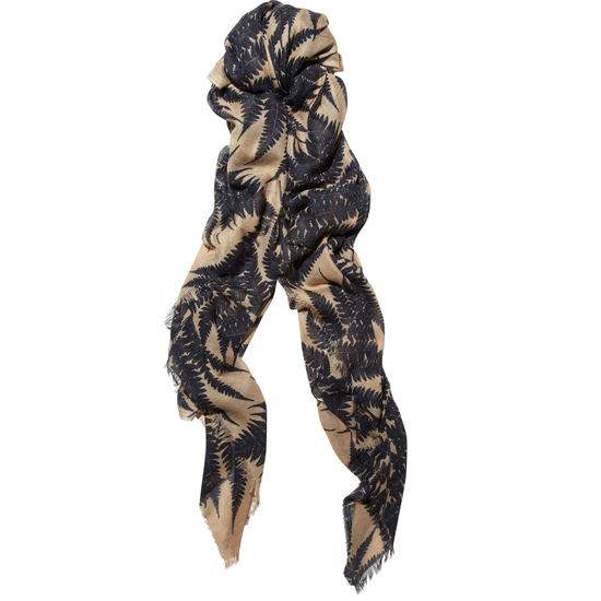 Stella McCartney Cashmere, Silk and Wool-Blend Scarf, $685