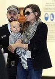Miranda Kerr and Flynn Bloom arrived in Australia together.