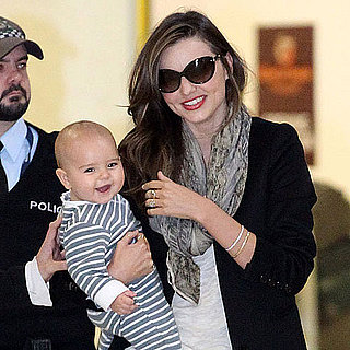 Miranda Kerr and Flynn Bloom Arriving in Australia Pictures