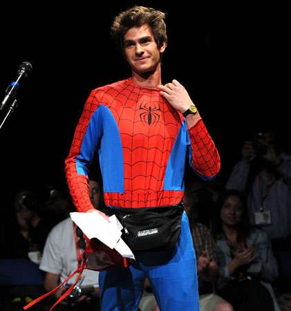 Most Touching Speech: Andrew Garfield at Comic-Con