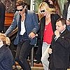 Kate Moss and Jamie Hince Pictures Leaving Sydney