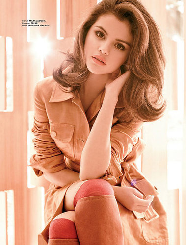 Selena Gomez in Elle Mexico August 2011