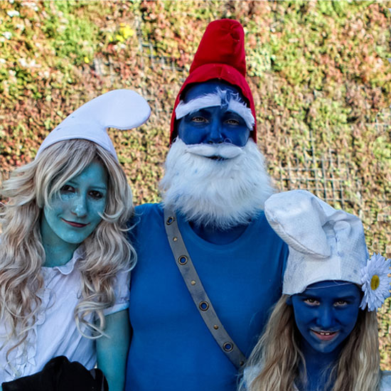 True Blue: See Smurfs Fans in Their Smurfy Finest