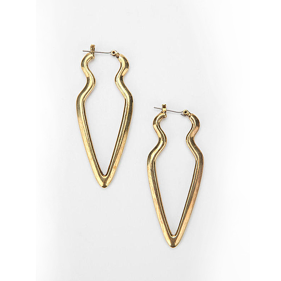 25th Floor Arrowhead Drop Earrings, $34