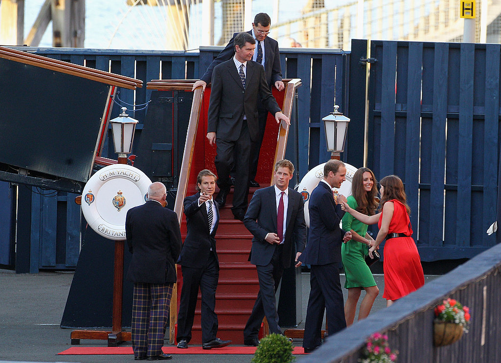 Dave Clark, Prince Harry, Prince William, Kate Middleton, Princess Eugenie in Scotland.