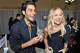 Rachel Zoe and Joey Maalouf at an Exude party.