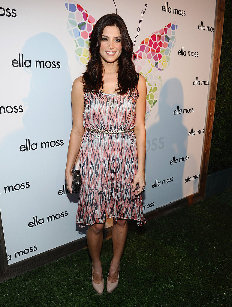 Ashley Greene at an Ella Moss party.