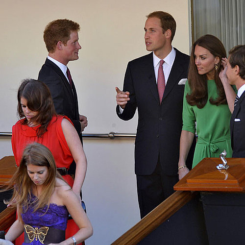 Kate Middleton and Prince William at Boat Party in Scotland