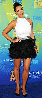 Kim Kardashian in Givenchy at the 2011 Teen Choice Awards