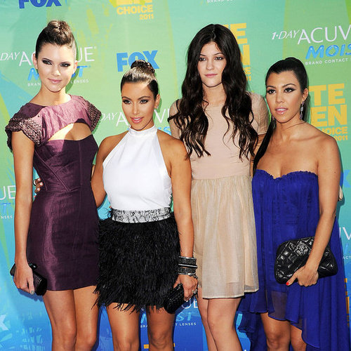 Kim Kardashian and Fergie at the Teen Choice Awards Pictures