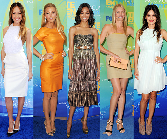 Best Dressed at 2011 Teen Choice Awards 2011-08-07 19:47: