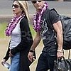 Jennifer Aniston and Justin Theroux Pictures in Hawaii 2011-08-01 12:09:25