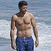 Jerry Ferrara Shirtless Pictures With Alexandra Blodgett
