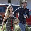 Diane Kruger and Joshua Jackson Pictures in Malibu