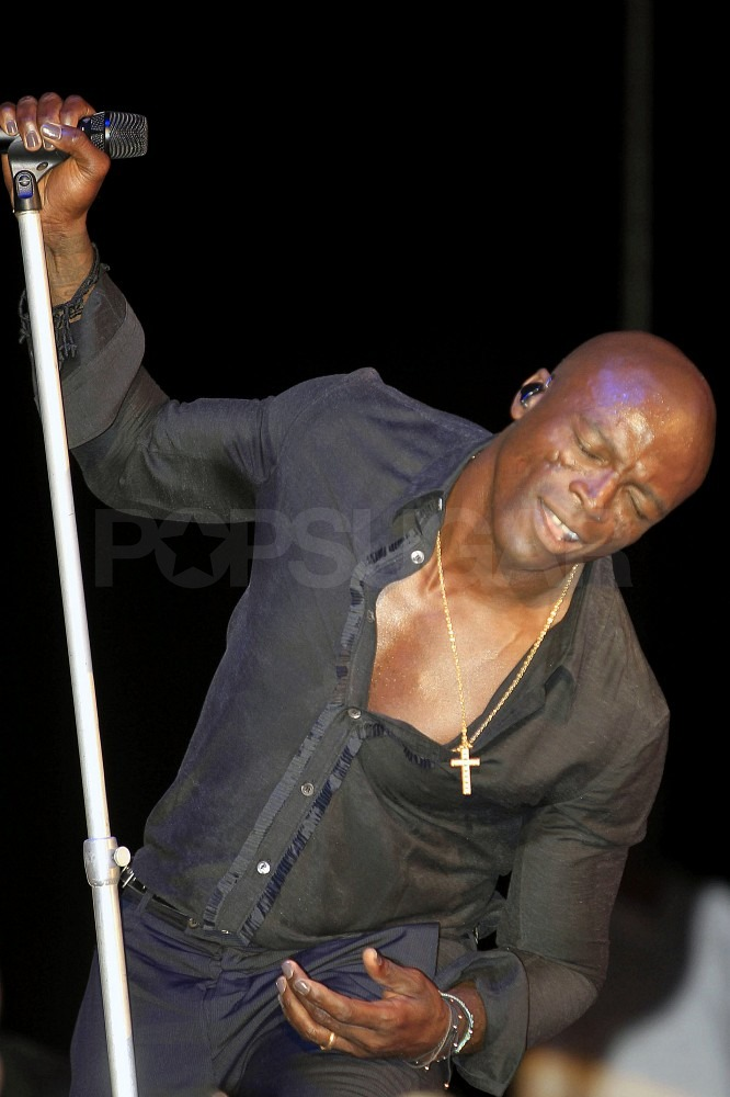 Seal performed in Ibiza, Spain.