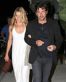 Jillian and Patrick Dempsey dined at Nobu in Malibu on Saturday.