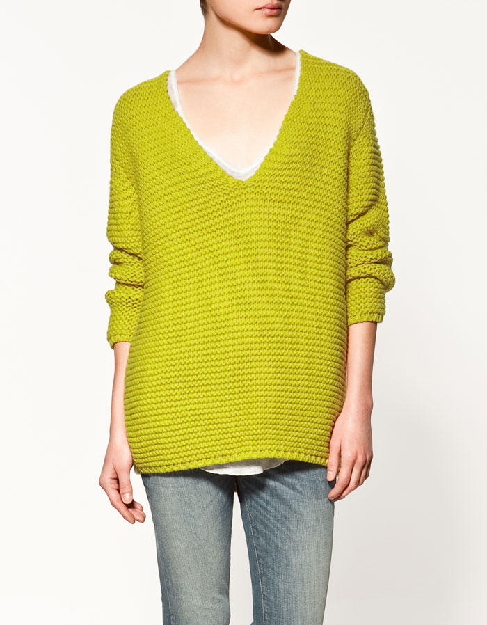 V-Neck Sweater, $59.90