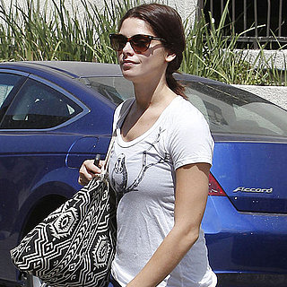 Ashley Greene at the Gym in Spandex Pants Pictures
