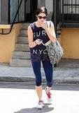 Ashley Greene wore a NYC tee.