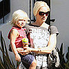 Gwen Stefani and Zuma Rossdale at Recording Studio Pictures
