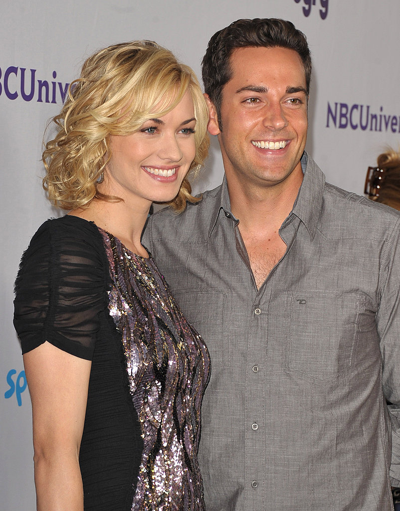 Zachary Levi and Yvonne Strahovski.