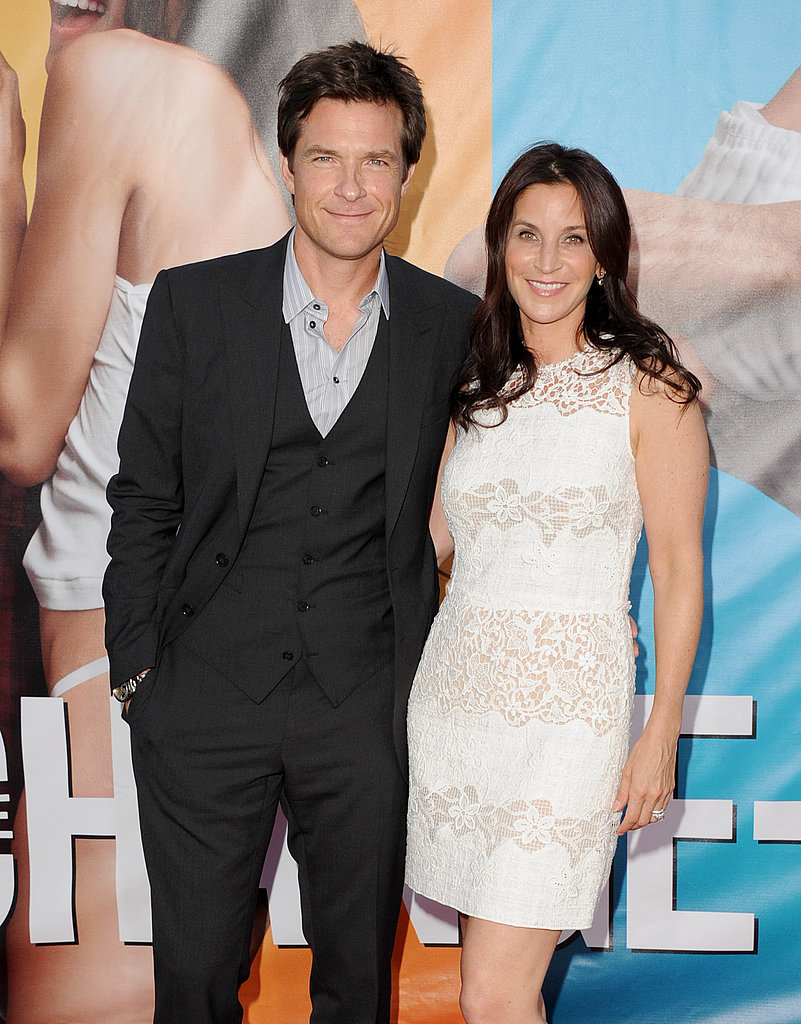 Jason Bateman with wife Amanda Anka.