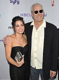 Jenna Dewan and Chevy Chase.