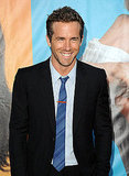 Ryan Reynolds's handsome smile.