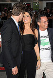 Sandra Bullock and Ryan Reynolds chat.