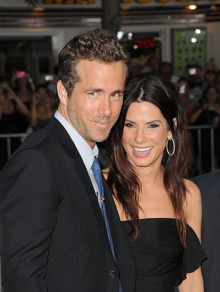 Ryan Reynolds with Sandra Bullock.