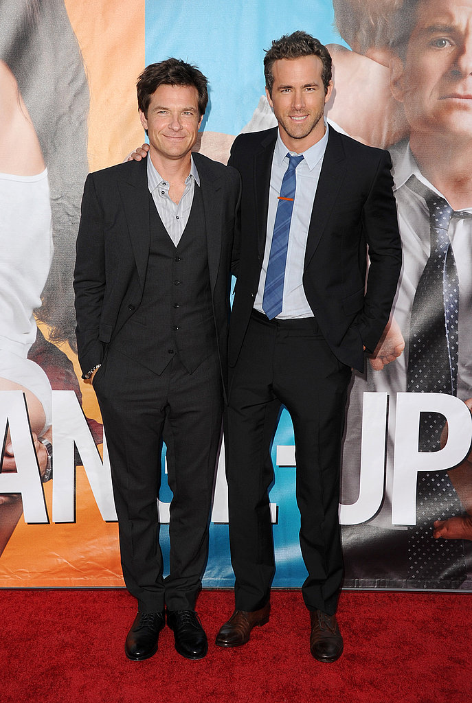 Ryan Reynolds and Jason Bateman at The Change-Up premiere.