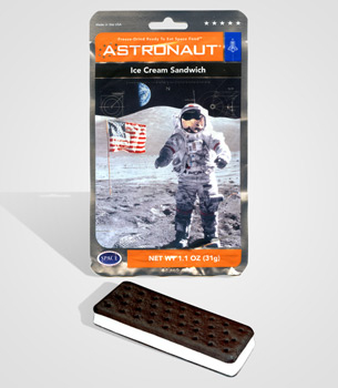 Astronaut Ice Cream Sandwich ($5)