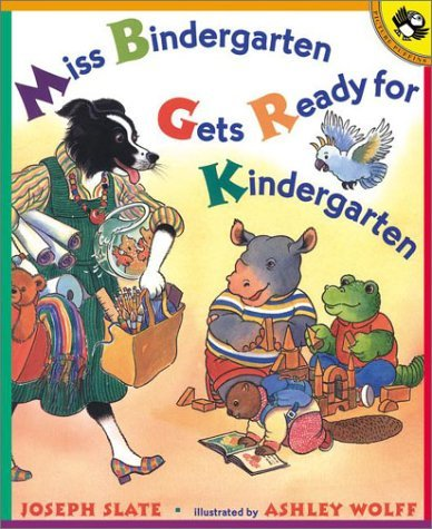 Miss Bindergarten Gets Ready For Kindergarten ($7)