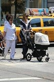 Ivanka Trump Shows Her Daughter Arabella the NYC Sights!