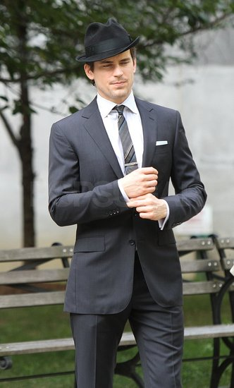 Matthew Bomer Looks Well-Suited For His White Collar Mid-Season Finale