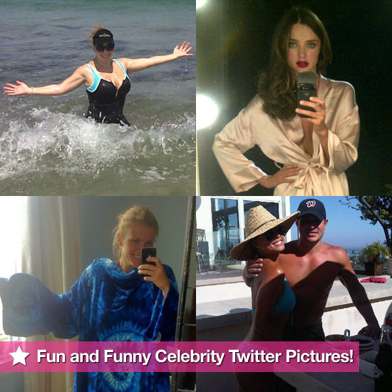 Miranda, Mariah, Brooklyn, and More in This Week's Fun and Funny Celebrity Twitter Pictures!