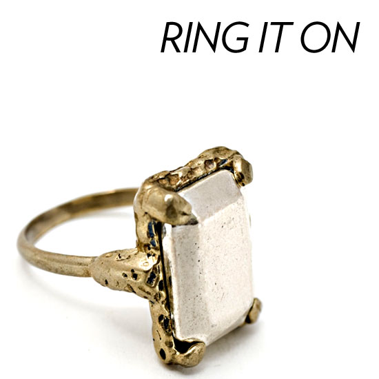 Shop Vintage-Inspired Statement Rings
