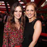 Rachel Bilson and Sarah Michelle Gellar Pictures at TCA Party