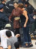 Marion Cotillard held onto her lunch.