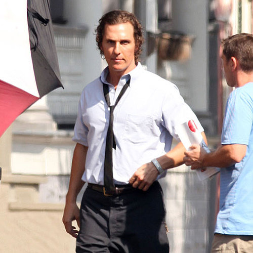 Matthew McConaughey on the Set of The Paperboy Pictures