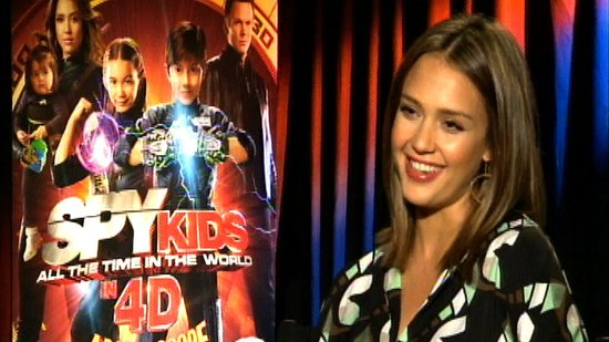 Jessica Alba Reveals the Real-Life Diaper Disaster That Inspired Spy Kids: All the Time in the World