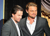 Mark Wahlberg and Leonardo DiCaprio posed for a photo.